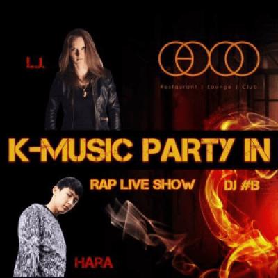 K-Music Party in Praha Rap live show