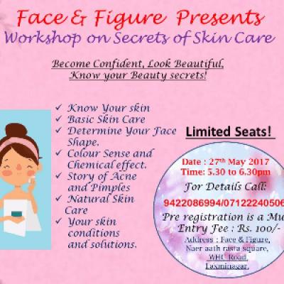 Face &amp Figure presents Workshop on skin care