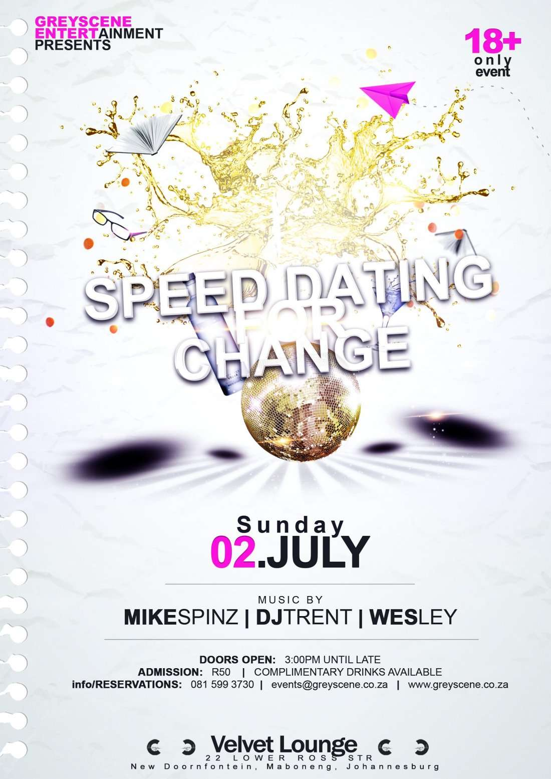 speed dating joburg
