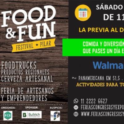 FOOD &amp FUN Festival PILAR  Comida &amp Diversin  Paseo de Artesanos Emprendedores Deco &amp Diseo ....