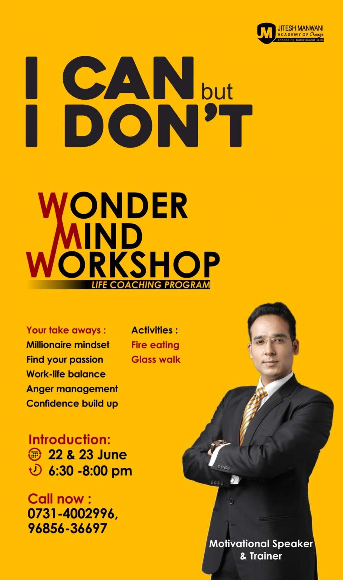 Wondermind Seminar