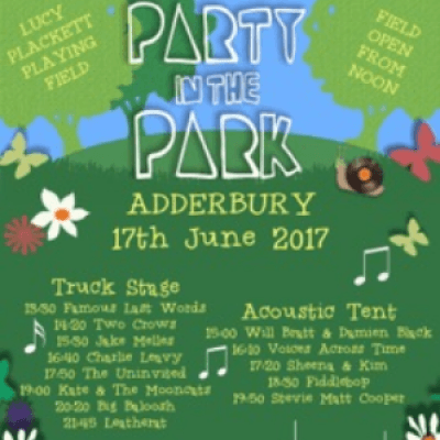 FiddleBop at Party in the Park Adderbury