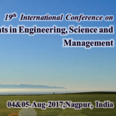 19th International Conference on Recent Developments in Engineering Science &amp Management