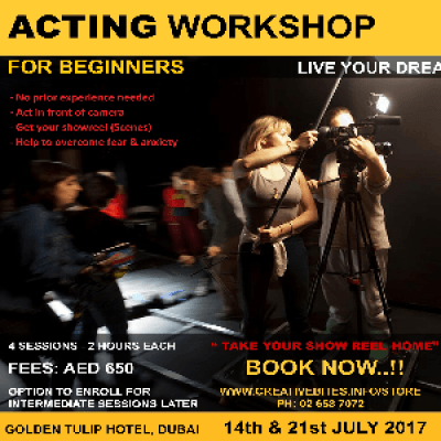 Acting Workshop for Beginners (No Experience needed)