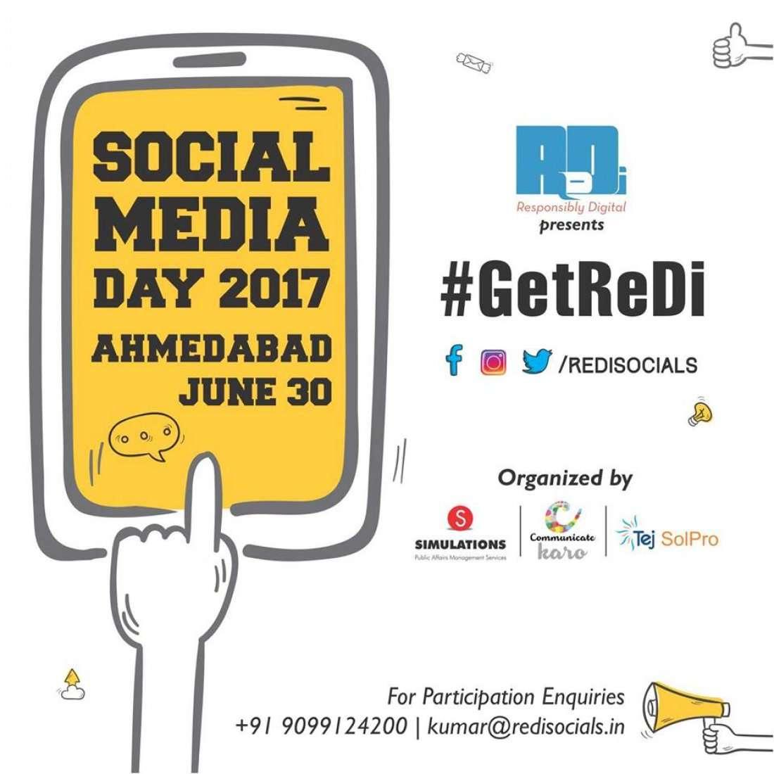 ReDis Social Media Day Ahmedabad 2017