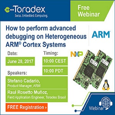 Guest webinar How to perform advanced debugging on Heterogeneous ARM Cortex Systems