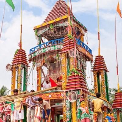 Guptipara Rathayatra Celebration 2017