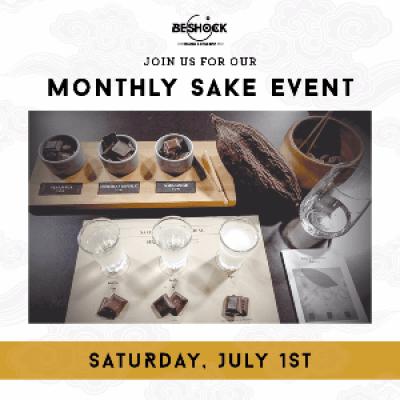 BeShock Ramens Monthly Sake Tasting Event