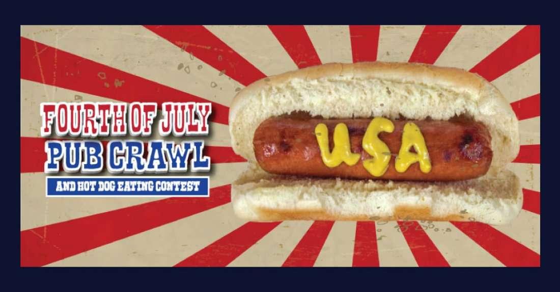 The San Francisco Fourth of July Pub Crawl & Hot Dog ...