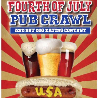 The San Francisco Fourth of July Pub Crawl &amp Hot Dog Eating Contest