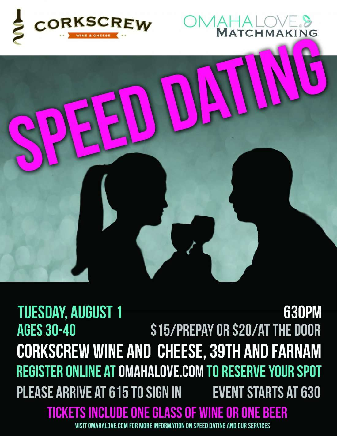 Speed Dating 30 s and 40 s