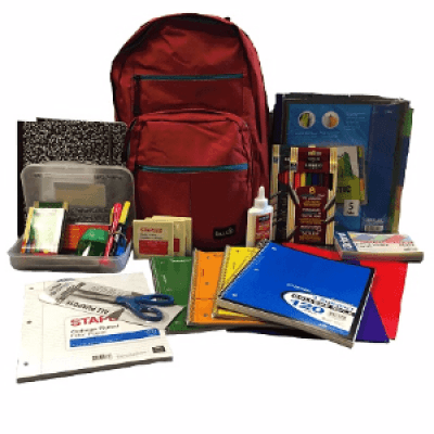 Backpack &amp School Supply Drive Benefits Foster Children