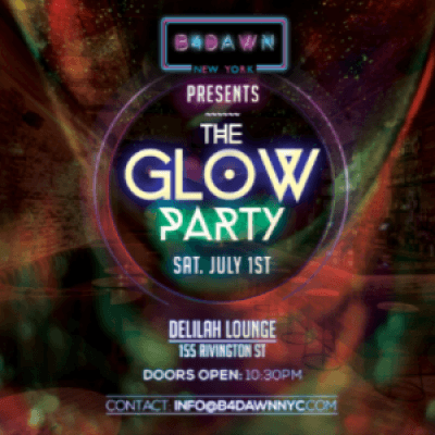 Blacklight Glow Party (IndepenDANCE Weekend NYC)