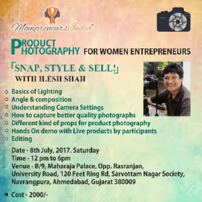 Product Photography For Women Entrepreneurs