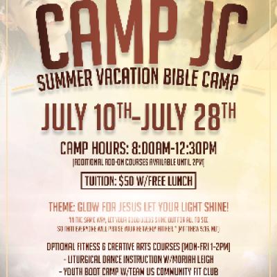 Camp JC Summer Vacation Bible School