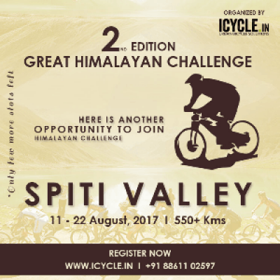 GREAT HIMALAYAN CHALLENGE - SPITI VALLEY