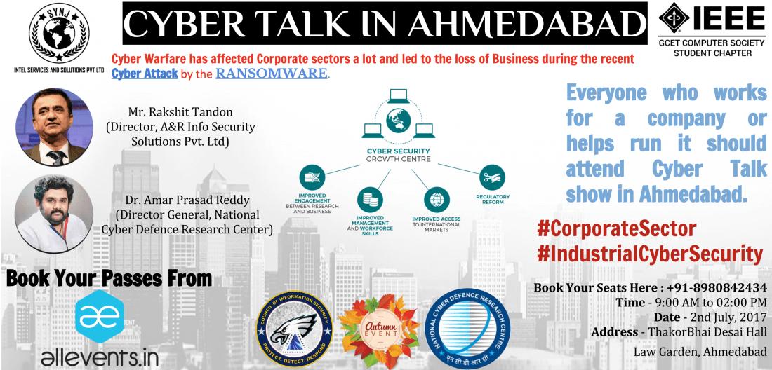Cyber Talk in Ahmedabad