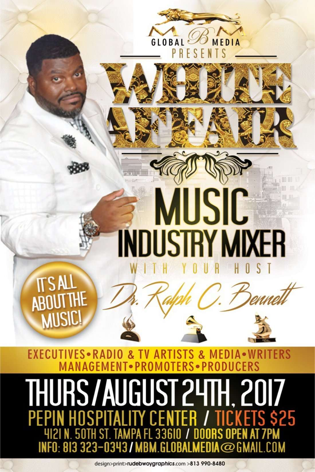 All White Affair Its all about the Music