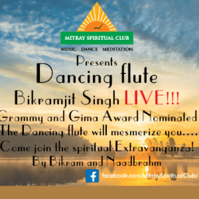 Dancing flute - Bikramjit Singh Live