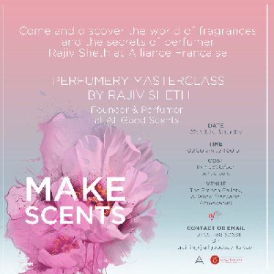 Perfumery Workshop by All Good Scents