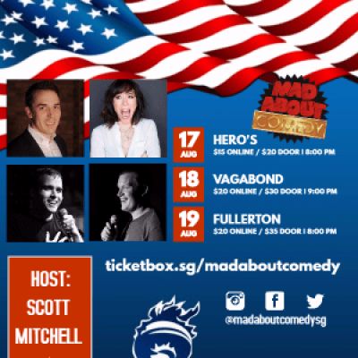 Mad About Comedy at Heros