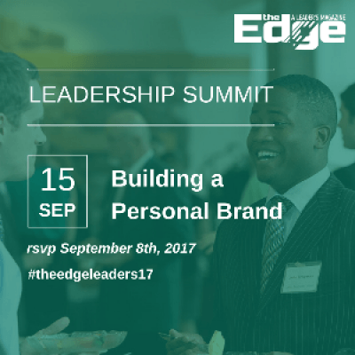 Leadership Summit  Building a Personal Brand
