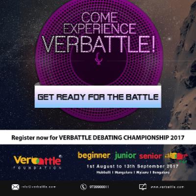 Verbattle Debating Championship 2017