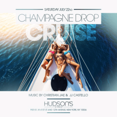 Sat 722 Midnight Yacht Party on the Champagne Drop Cruise