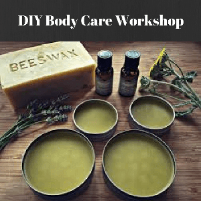 Make-And-Take Body Care Workshop (Session 1)