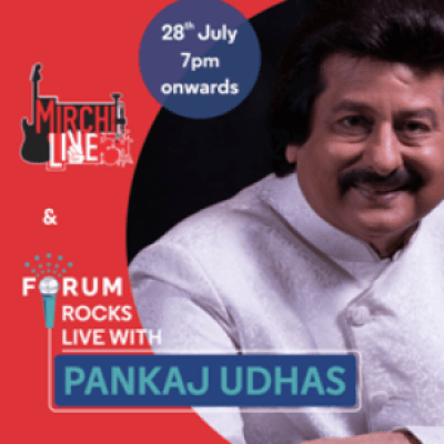 Forum Rocks LIVE with Pankaj Udhas