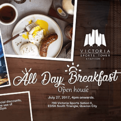 ALL DAY BREAKFAST GRAND OPEN HOUSE