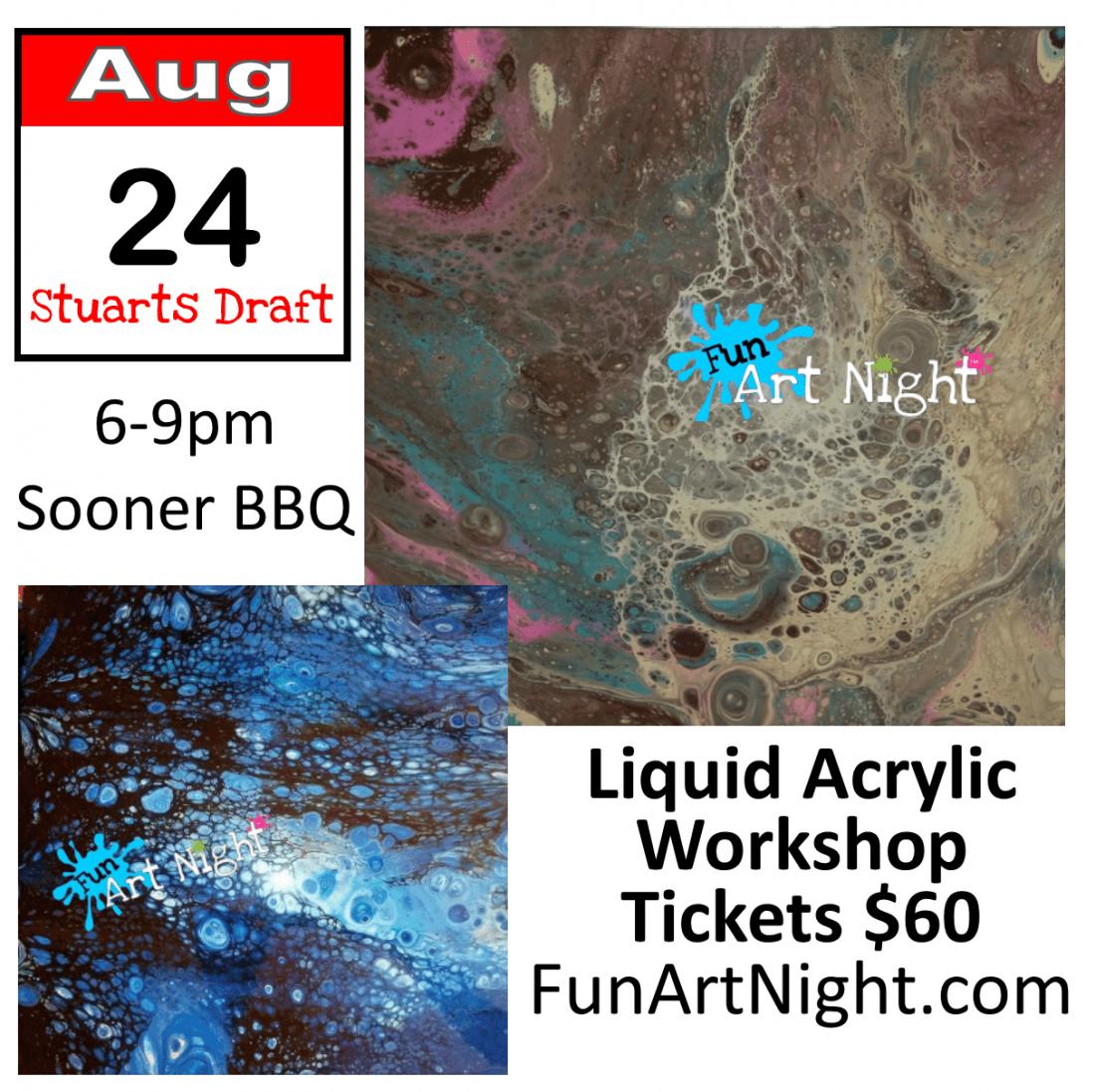 Liquid Acrylic Workshop
