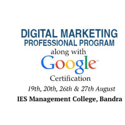 Digital Marketing with Google Certification
