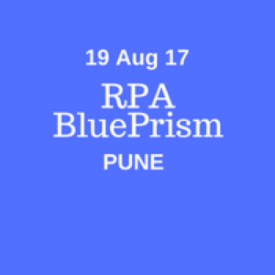 RPA- BluePrism Training Real Time Classroom Training in Pune Duration- 32 Hrs Weekend
