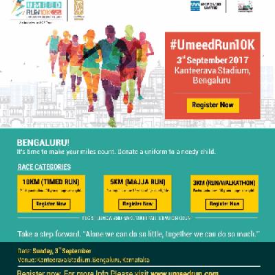 Umeed Run - Bangalore