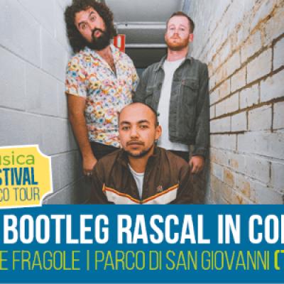 Bootleg Rascal in concertoPop Toxique Dj Set - Lunatico Festival Trieste -