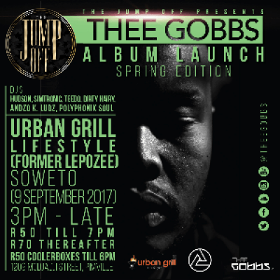 The JUMP OFF Presents THEE GOBBS Album Launch