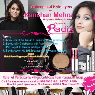 Bridal competition &amp Seminar By Kanchan Mehra