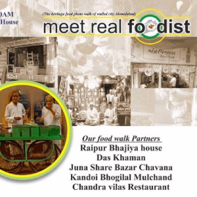 Meet real foodist (Heritage Food Walk)