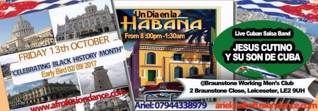 UN DIA EN LA HABANA CUBAN LIVE BAND CELEBRATING BLACK HISTORY MONTH