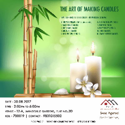 Art of Candle Making by Prerna Agarwal