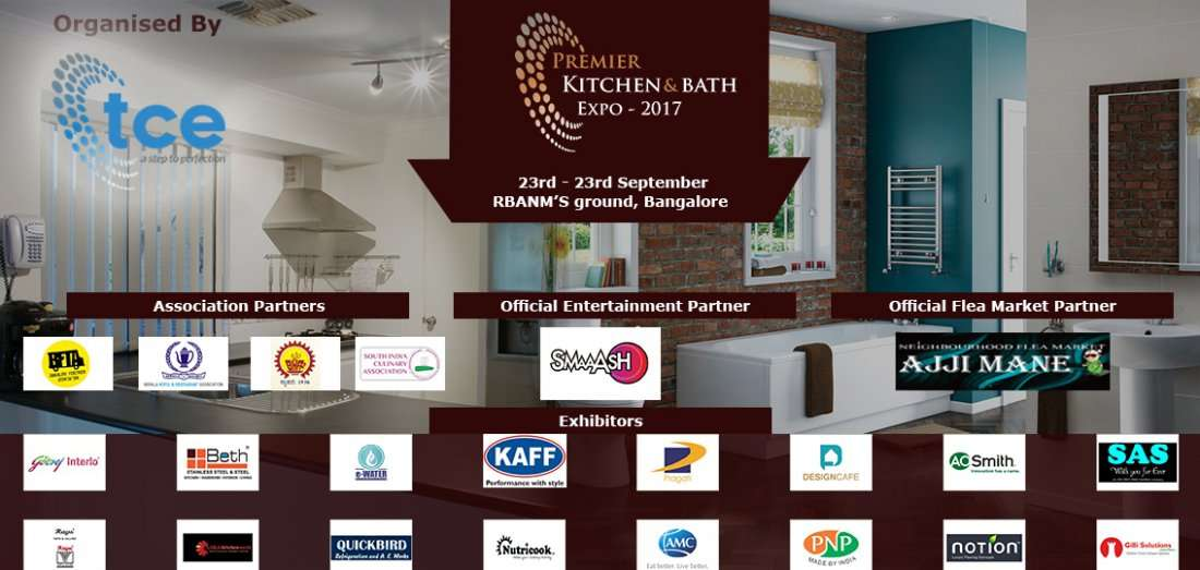 Premier Kitchen And Bath Exhibition At Rbanms Ground Bangalore