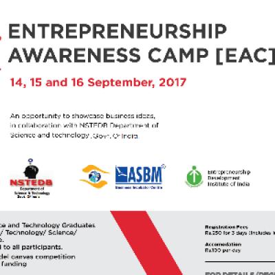 Entrepreneurship Awareness Camp-2017