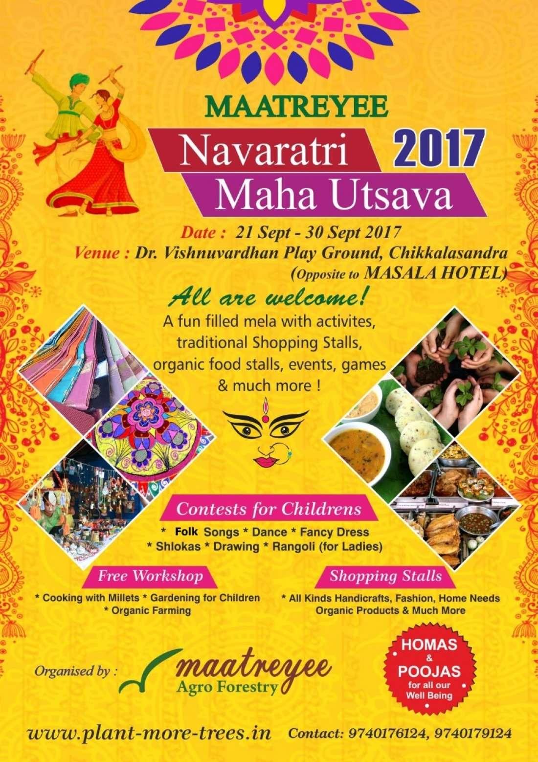 Navaratri Maha Utsava - Fun filled extravaganza