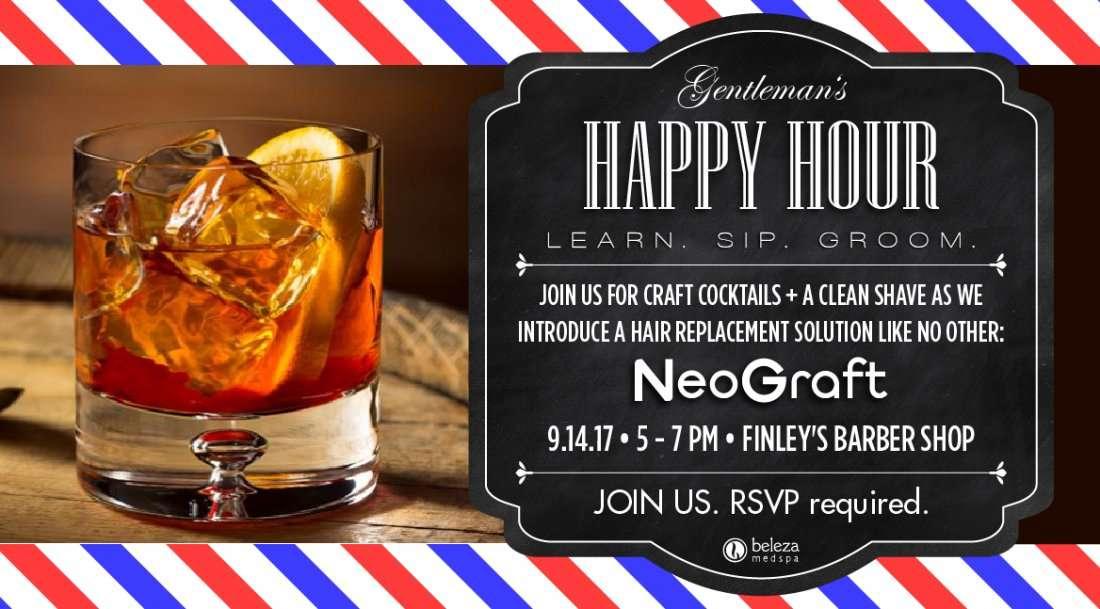 Gentlemans Happy Hour NeoGraft Event