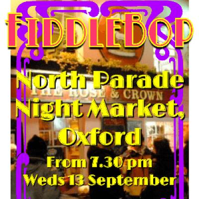 FiddleBop at North Parade Night Market