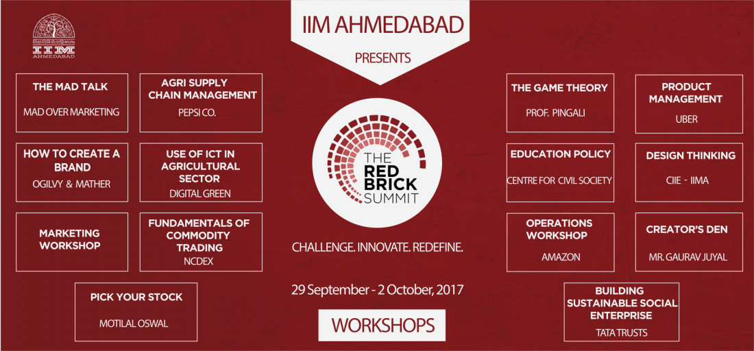 On Campus accommodation - The Red Brick Summit IIMA