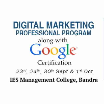 4 Day Digital Marketing workshop with Google Certification