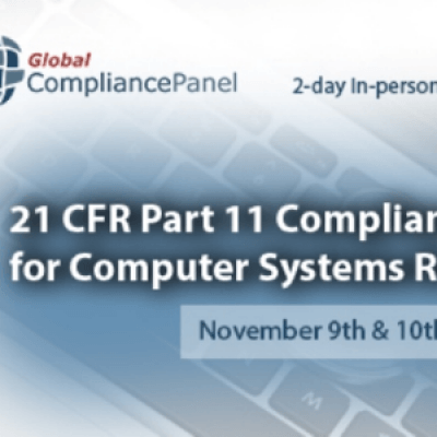 21 CFR Part 11 Compliance for Computer Systems Regulated by FDA 2017