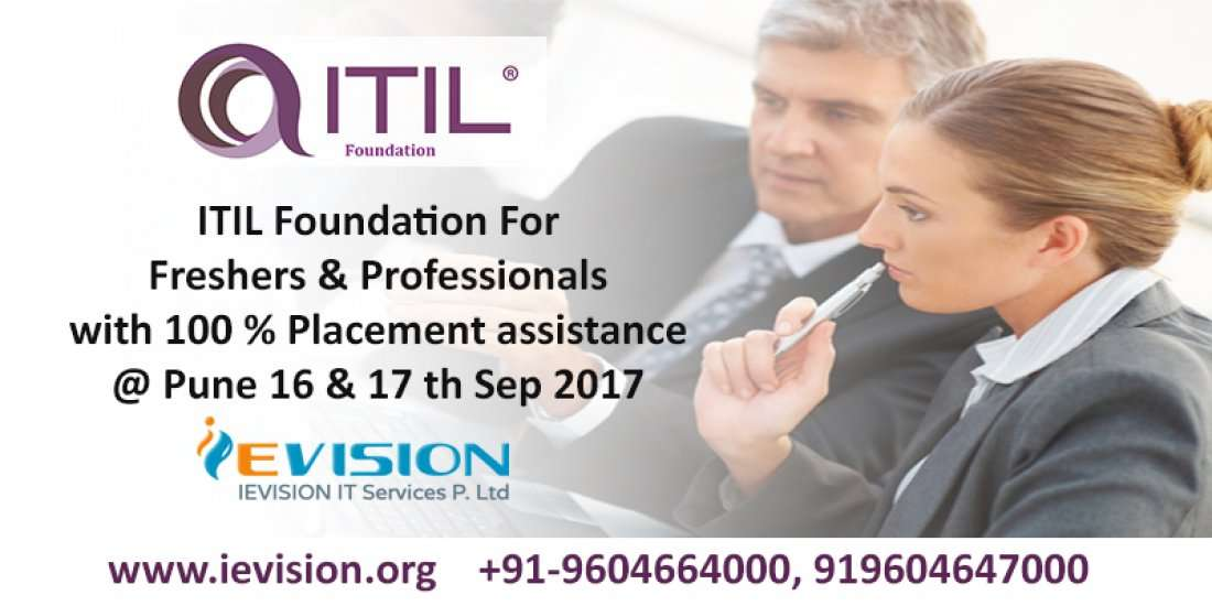 Itil V3 Foundation Training Certification Course Ievision At